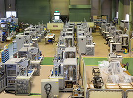 もの造りのこころ もの造りセンター 八尾工場│山本ビニター株式会社